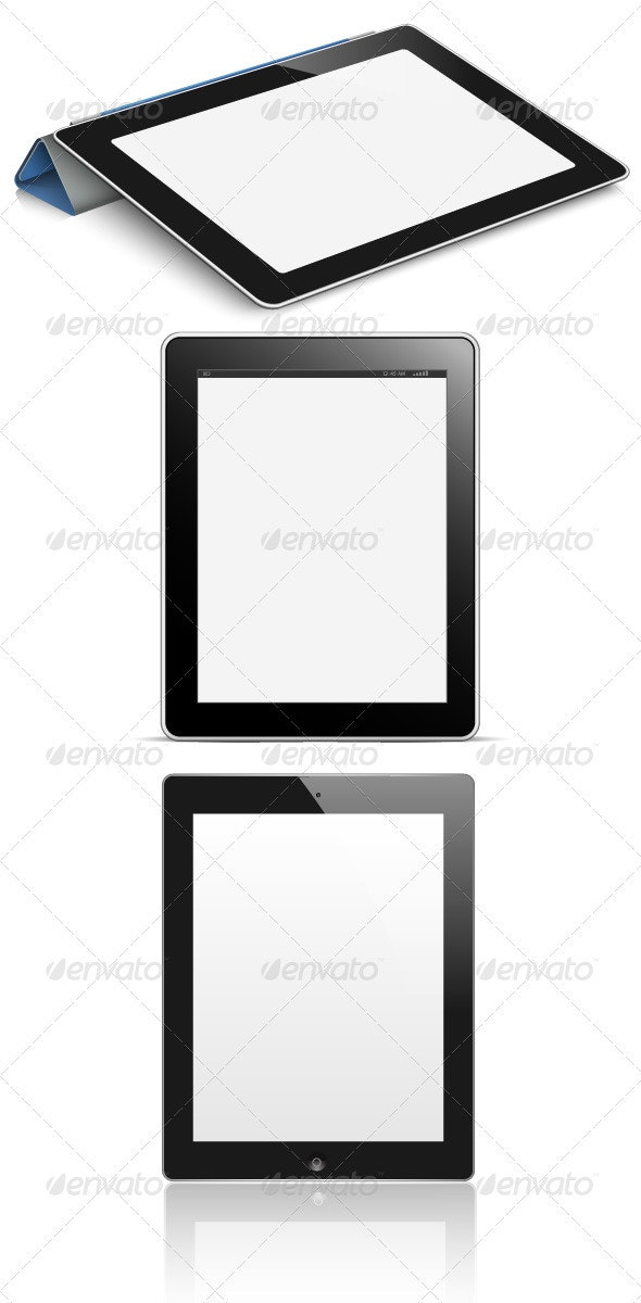 Digital Tablet PC with Blank Screen  - Computers Technology