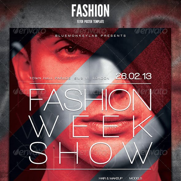 Fashion Flyer Poster