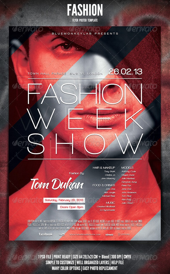 Fashion Flyer Poster - Events Flyers