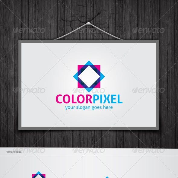 Color Pixel Logo