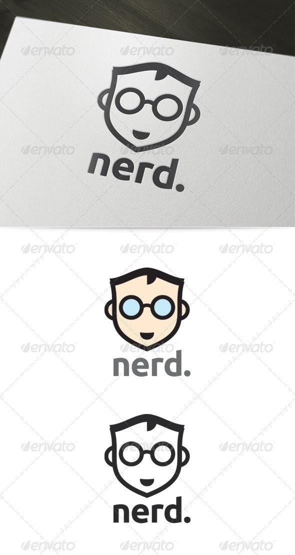 Nerd Logo - Humans Logo Templates
