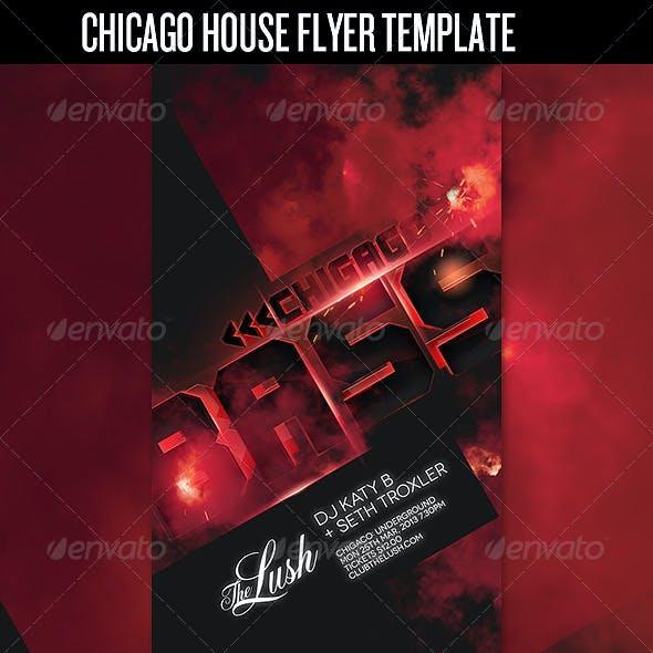 House Club Flyer