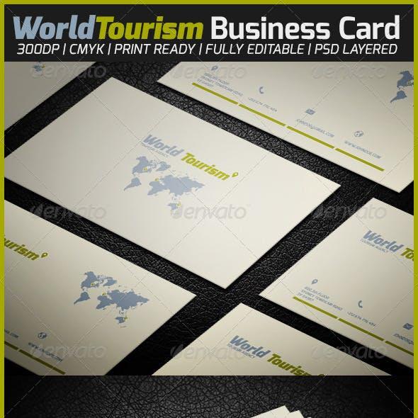 World Tourism Business Card
