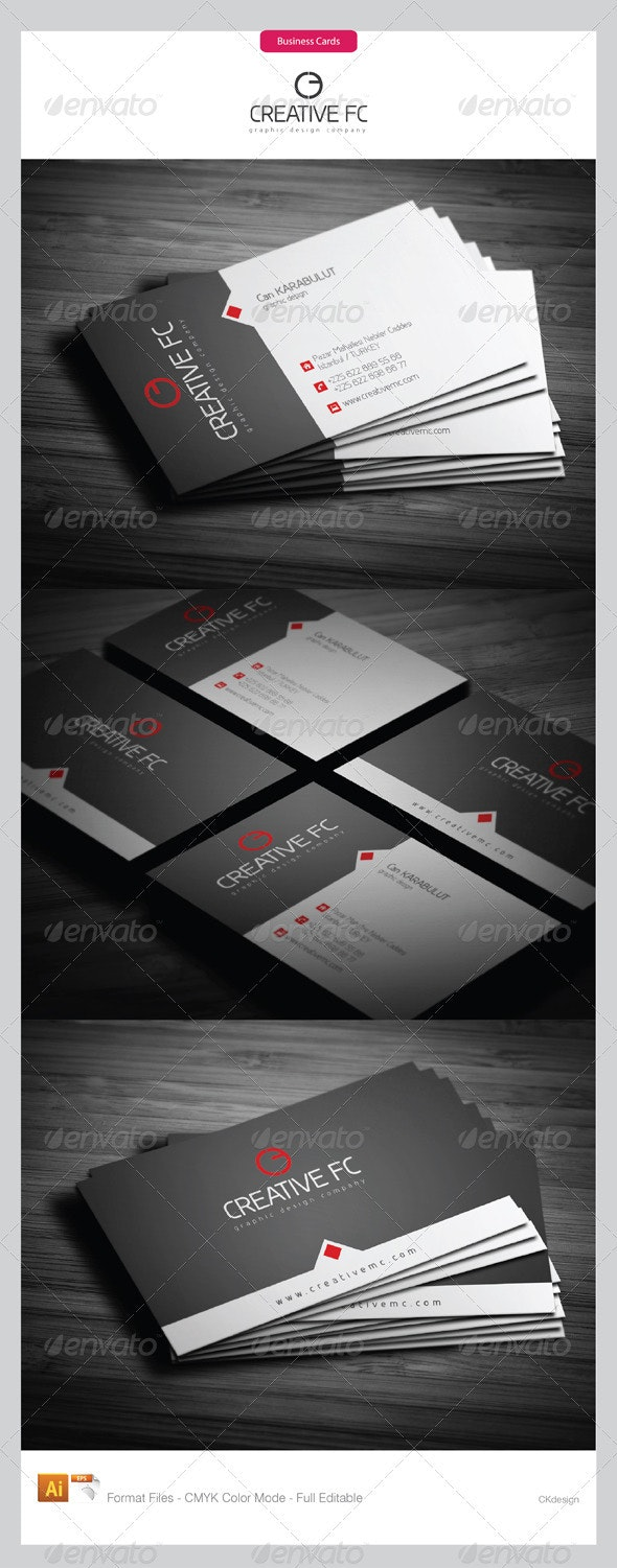 Corporate Business Cards 288 - Creative Business Cards