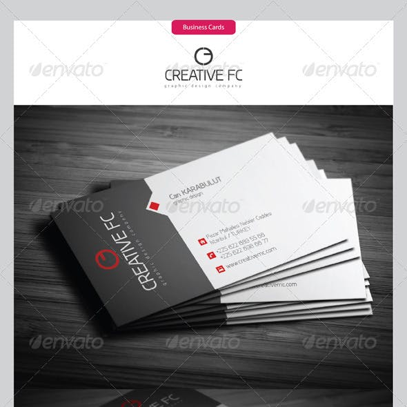 Corporate Business Cards 288