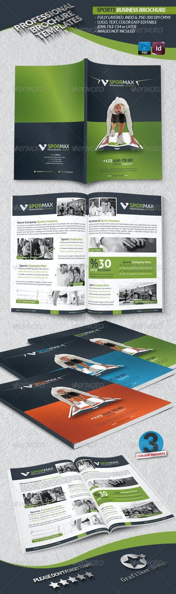 Sports Business Brochure - Informational Brochures