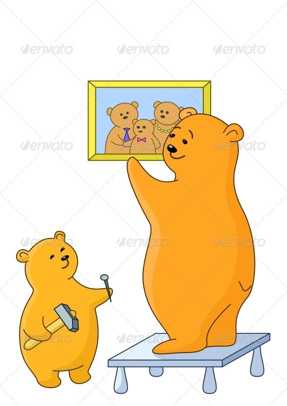 Bears attach a picture - Animals Characters