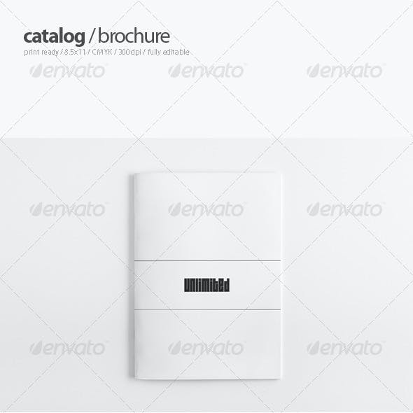 Portfolio Catalogue / Brochure