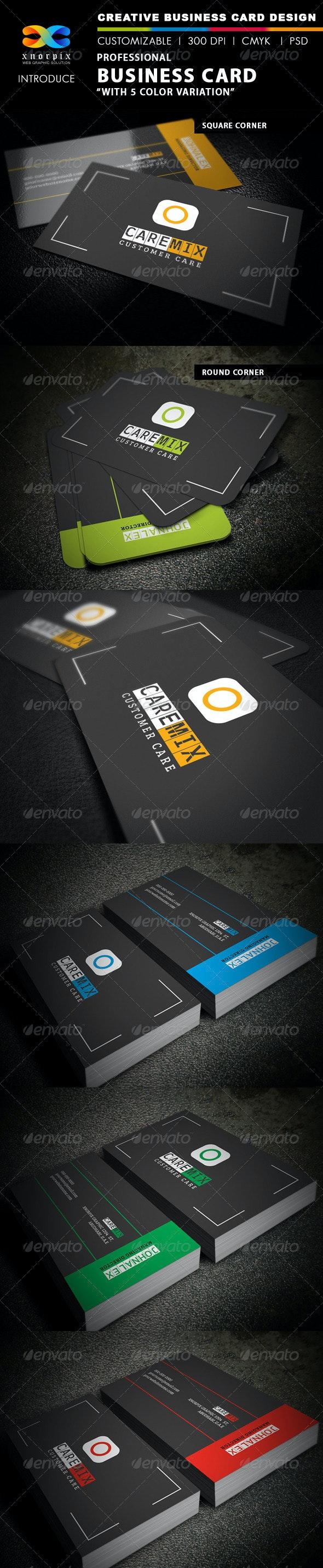 Customer Care Business Card - Creative Business Cards