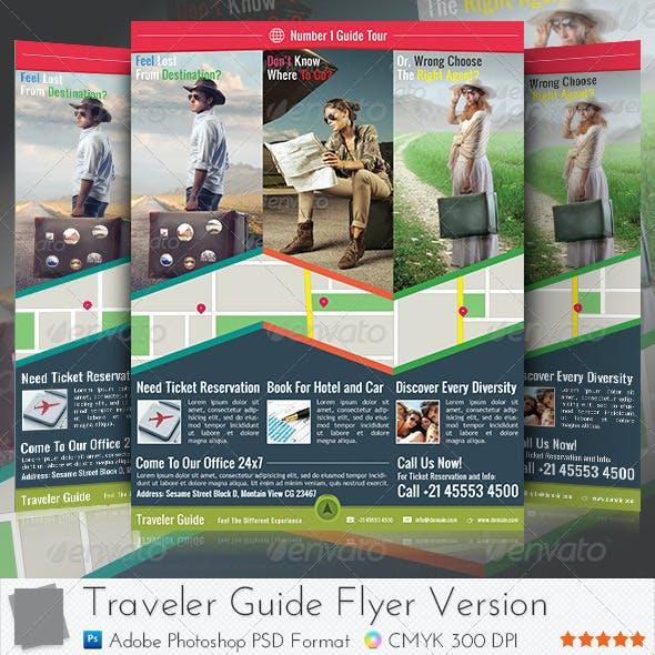 Traveler Guide Flyer