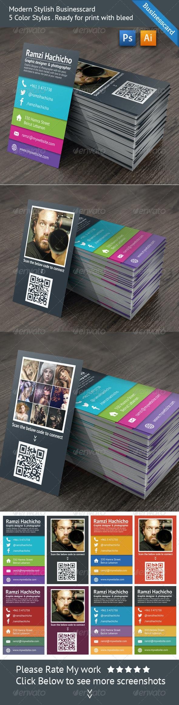 Modern Stylish Business Card  - Creative Business Cards