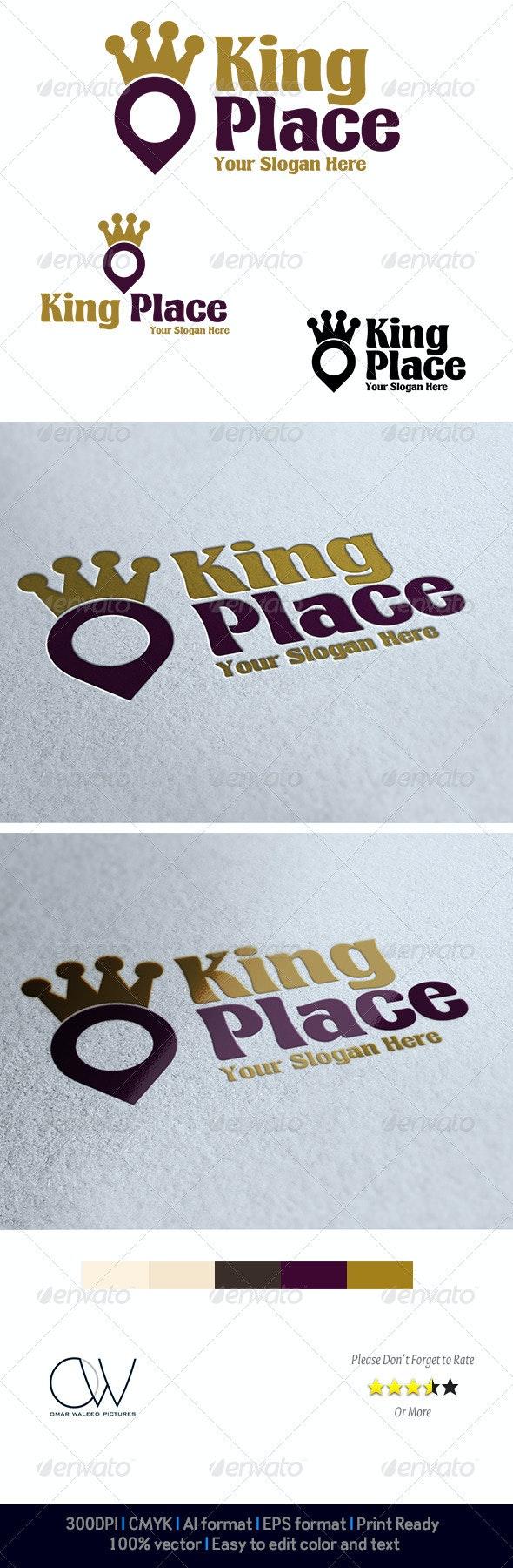 King Place Logo - Logo Templates