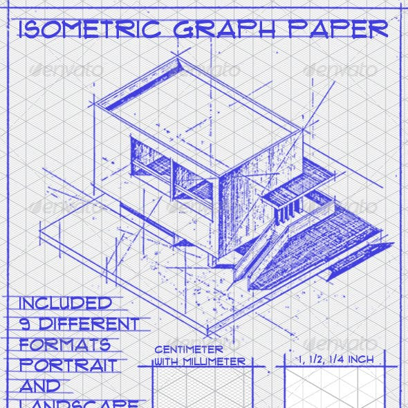 Isometric Graph Paper Set