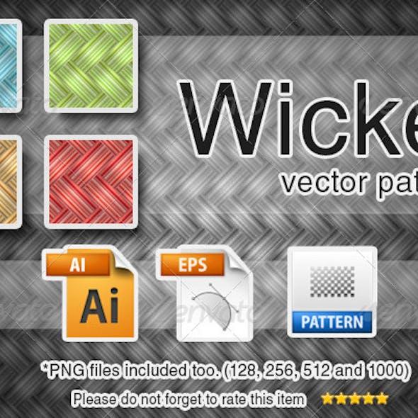Vector Wicker Pattern