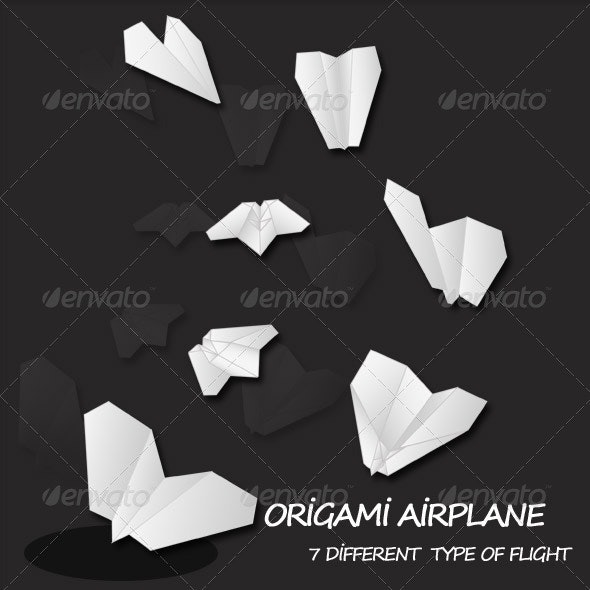 Paper Airplane - Miscellaneous Characters