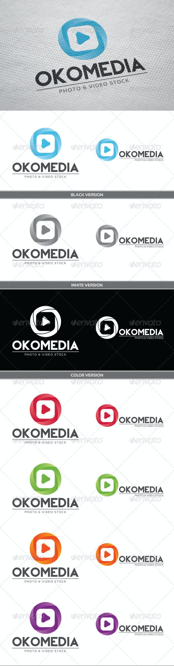 Okomedia Logo - Vector Abstract