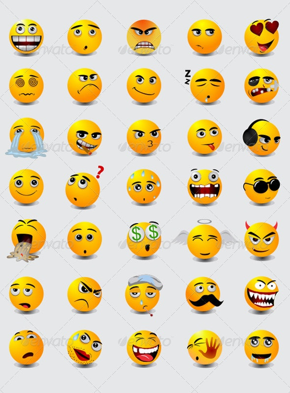 Emoticon - Miscellaneous Characters