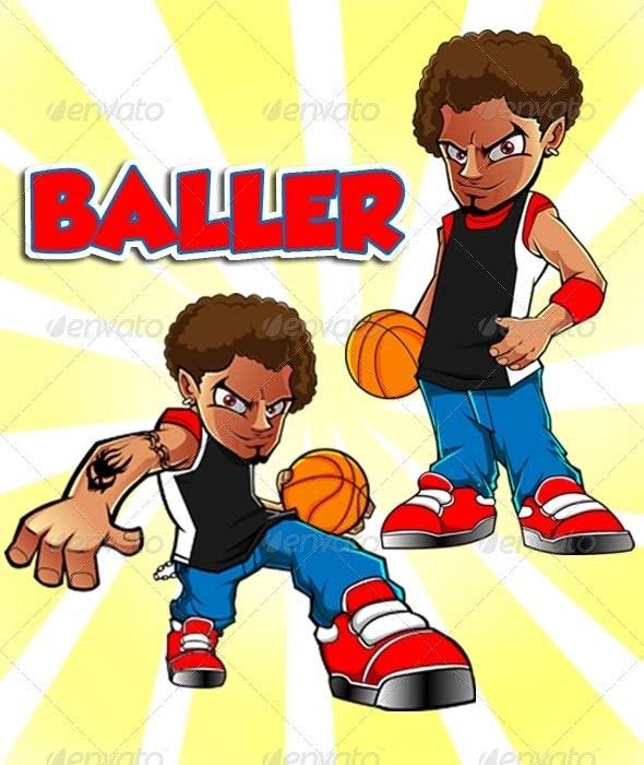 Baller - Vectors