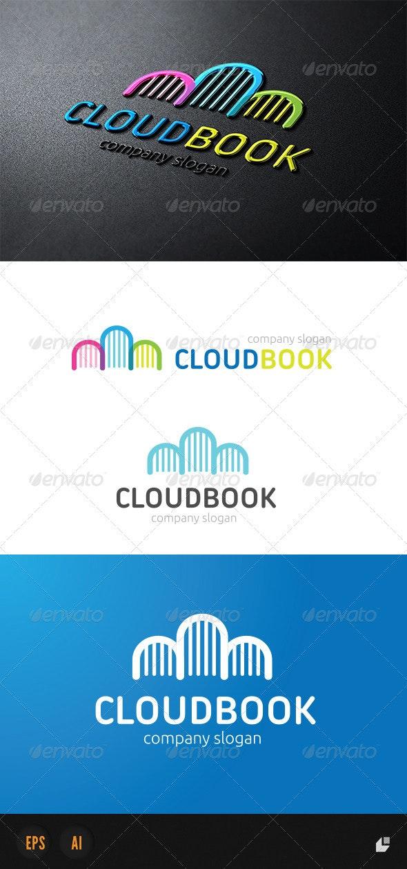 Cloud Book Logo - Objects Logo Templates