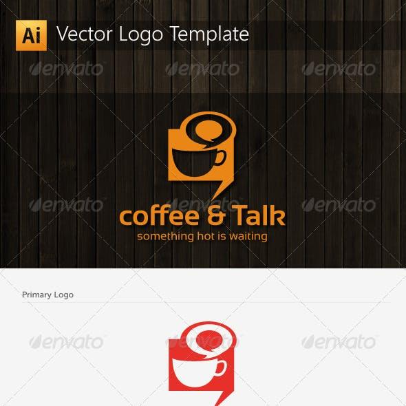Coffee and Talk Logo