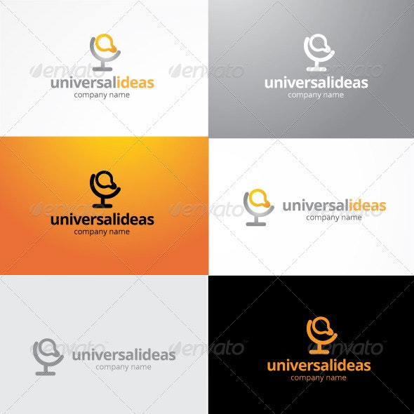 Universal Ideas Logo - Objects Logo Templates