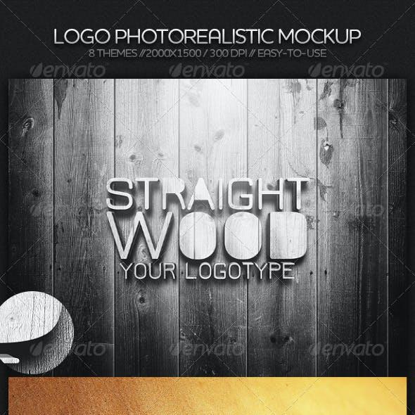 Logo Photorealistic Mockup