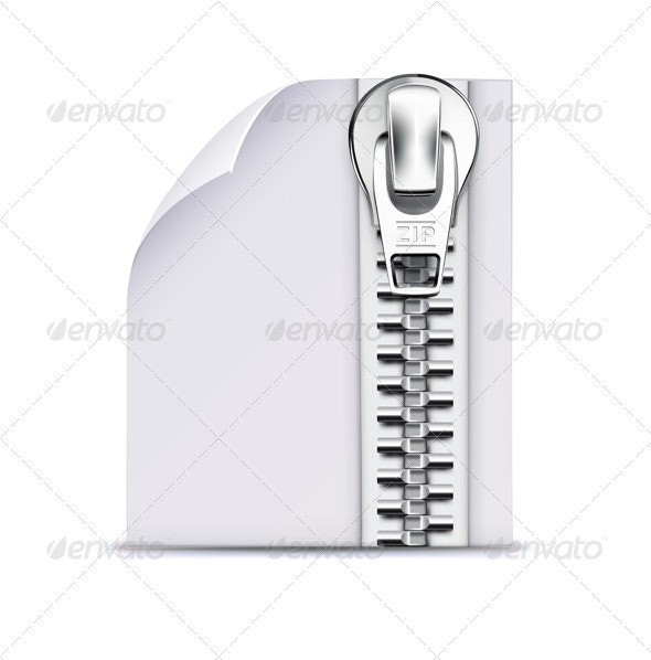 zip file icon - Computers Technology