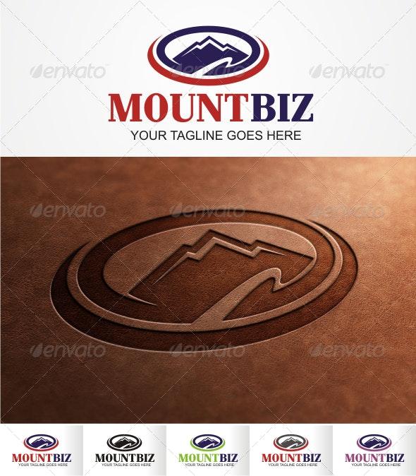 MountBiz Logo - Nature Logo Templates