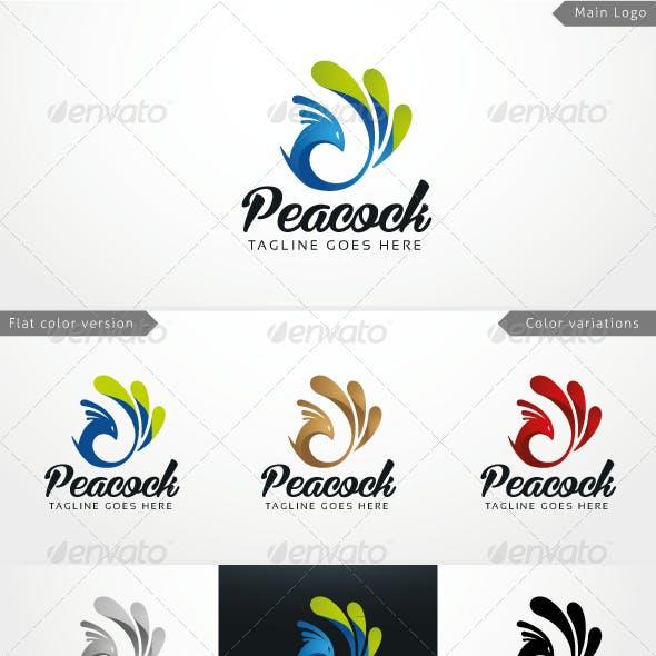 Peacock - Logo Template
