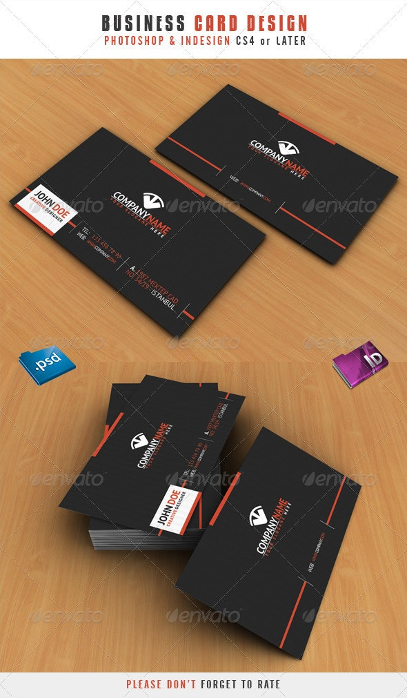 Business Card Design - Corporate Business Cards