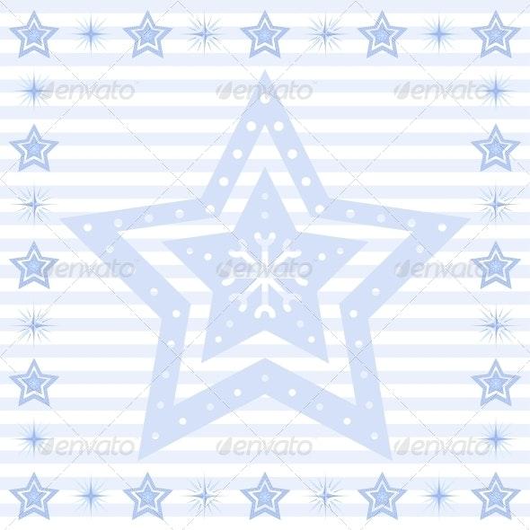 Stars Background - Patterns Decorative