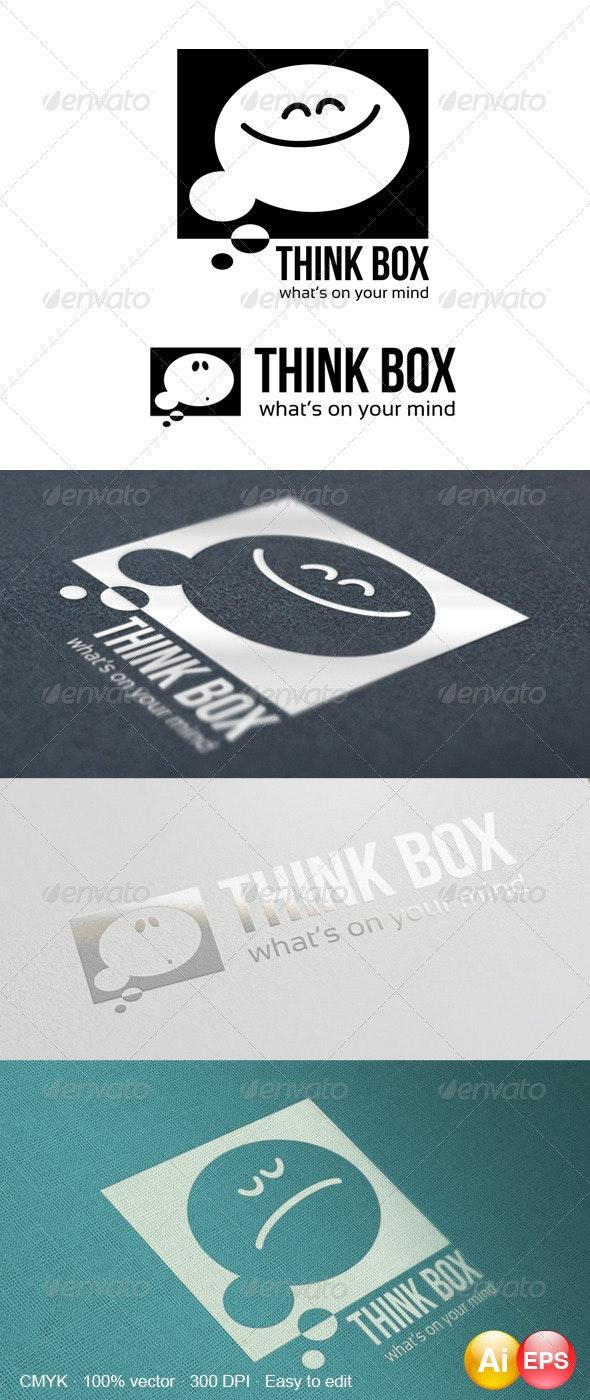 Think Box Logo - Symbols Logo Templates