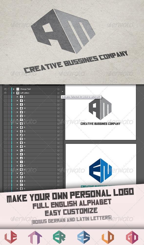 Letter Logo Template - Logo Templates