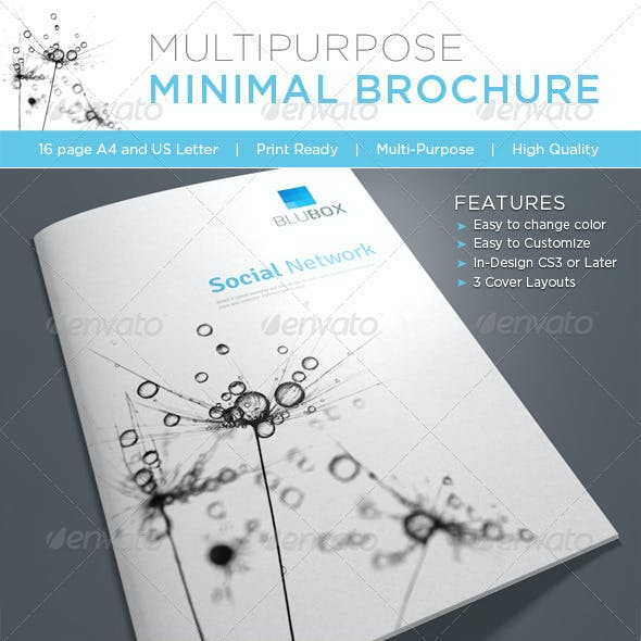 Multipurpose minimal Brochure