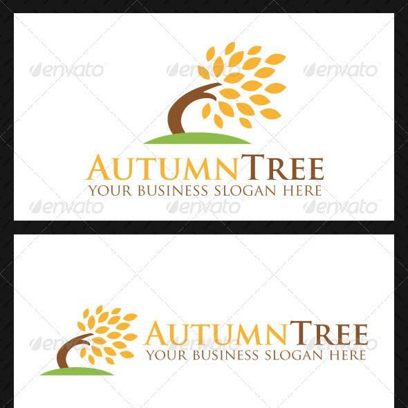 Autumn Tree Logo Template