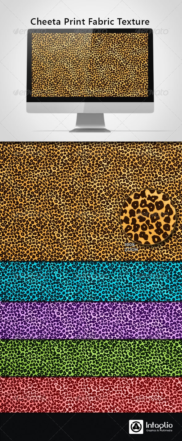 Cheeta Print Fabric Texture - Fabric Textures