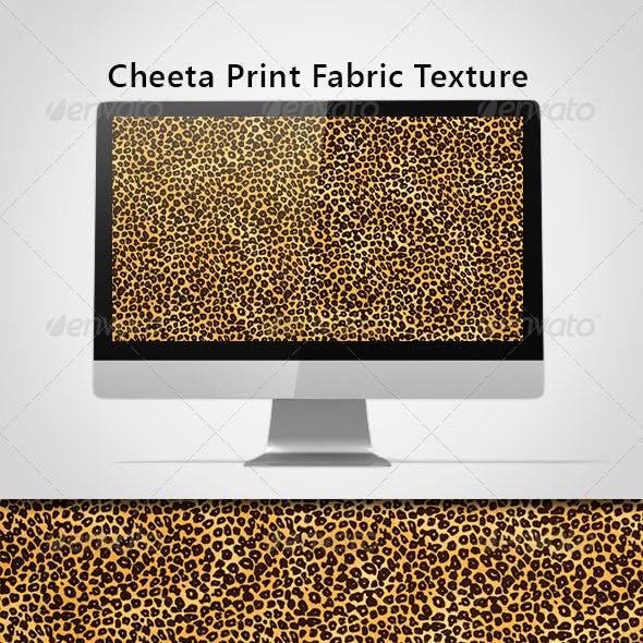 Cheeta Print Fabric Texture