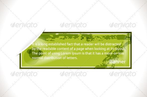 Web Banner - Borders Decorative