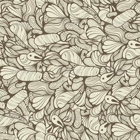Vector Seamless Funky Pattern - Patterns Decorative