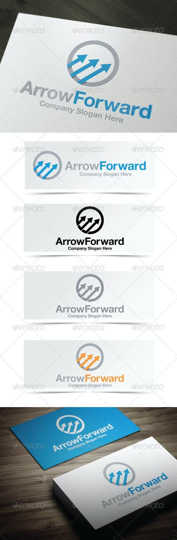 Arrow Forward - Symbols Logo Templates