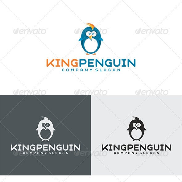 King Penguin Logo