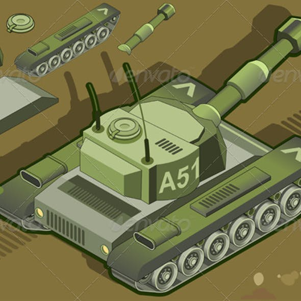 Isometric Tank