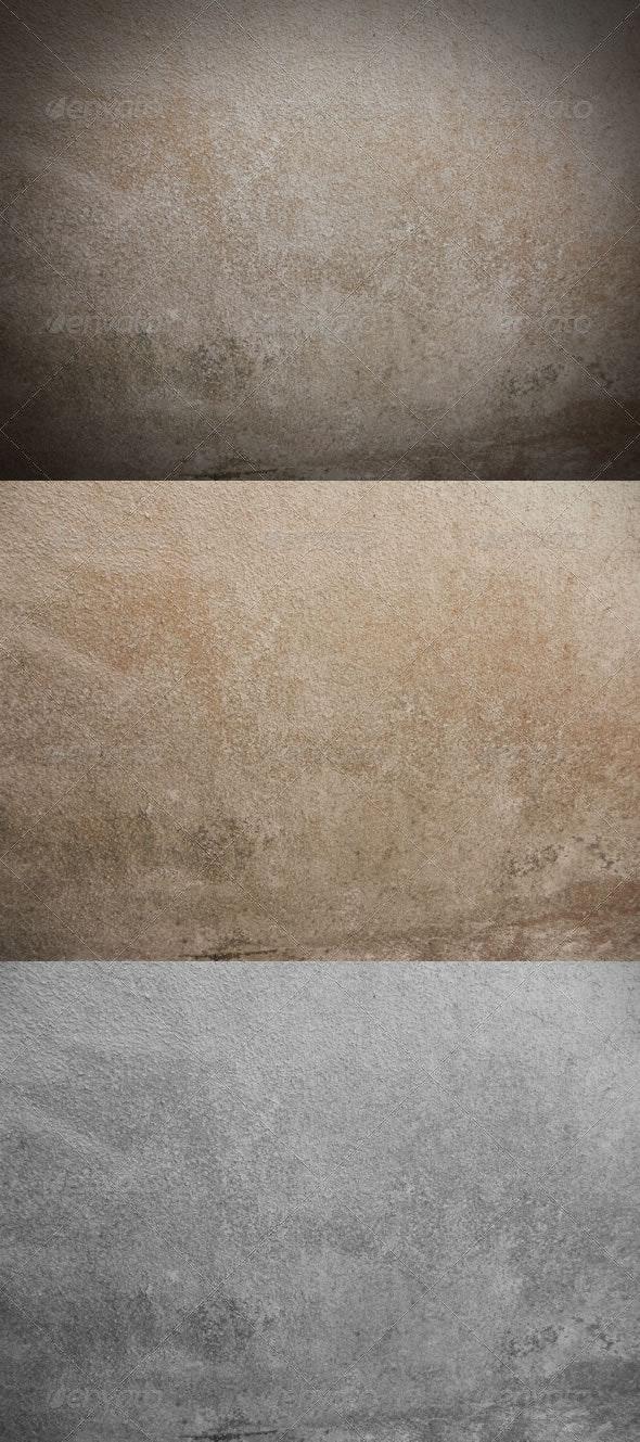 3 Ancient Concrete Textures - Concrete Textures