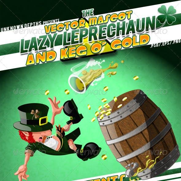 Lazy Leprechaun - Lazy & Keg 'o Gold Mascot