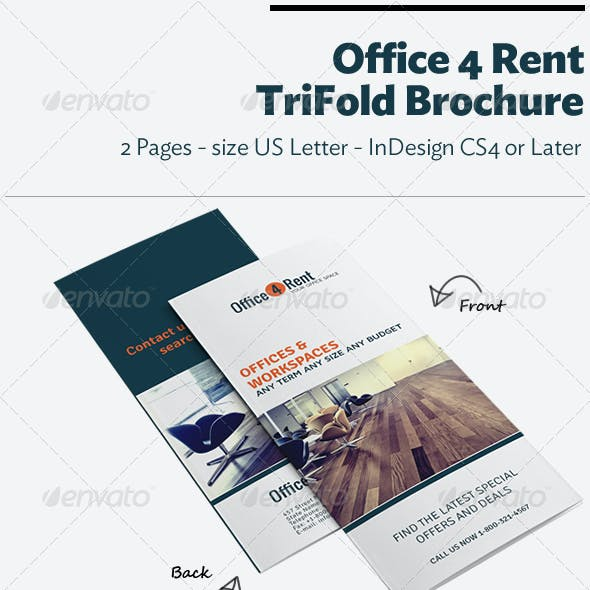 Office 4 Rent Trifold Brochure