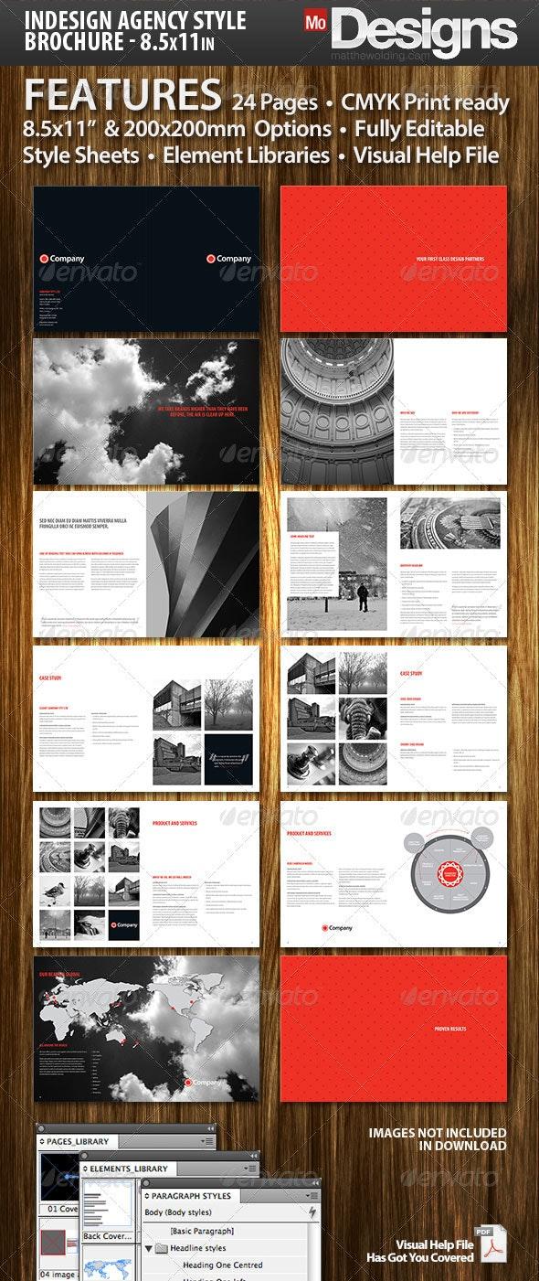 Agency Brochure - 24 Page - Corporate Brochures