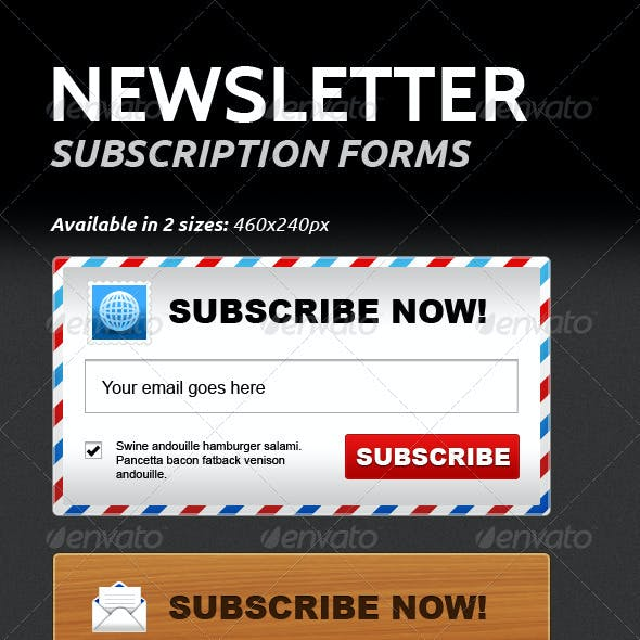 Newsletter Subscription Forms