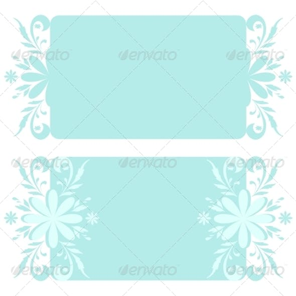 Backgrounds with Christmas floral pattern