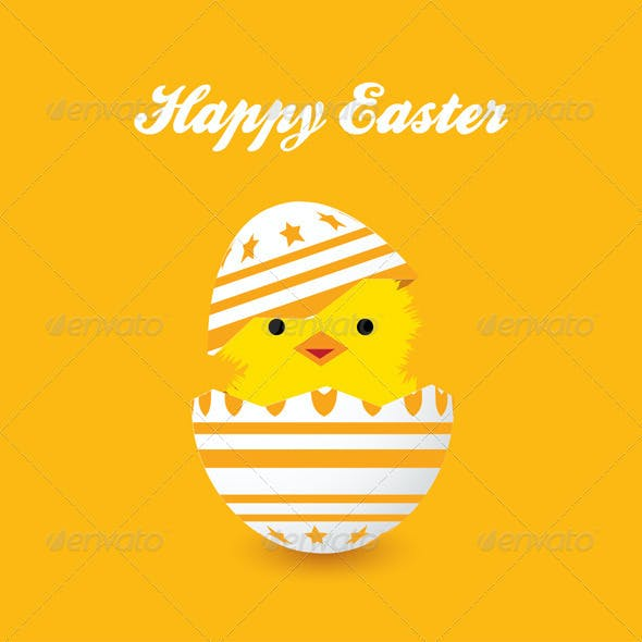 4 Easter Card Backgrounds