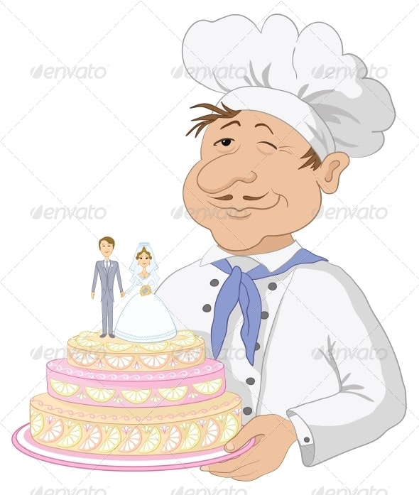 Cook with holiday wedding cake - Weddings Seasons/Holidays